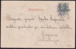 Labin, 30/1, 07, Hand Written On Picture Postcard - Briefe U. Dokumente