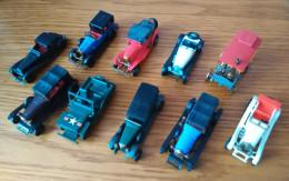Lot De Voitures De Collection Miniatures - Oud Speelgoed