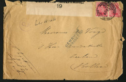 BELGIUM - September 30, 1916. Old Cover POSTES MILITAIRE Sent To Zeeland, The Netherlands. CENSORED. - Military (M Stamps)