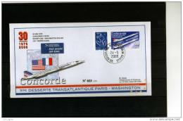 N°3802D 0.55 BLEU LAMOUCHE OBLITERE SUR LETTRE COTE MAURY 100 EUROS RARE LUXE - France
