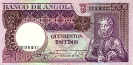 ANGOLA 500 ESCUDOS 1973 P-107 AU/UNC [ AO431a ] - Angola