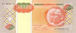 ANGOLA 50000 KWANZAS REAJUSTADOS 1995 P-138  [ AO529a ] - Angola