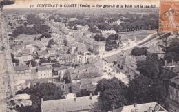 85. FONTENAY LE COMTE. CPA. VUE GÉNÉRALE DE LA VILLE VERS LE SUD EST - Fontenay Le Comte