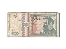 Roumanie, 500 Lei, 1992, KM:101a, 1992, TB - Roumanie