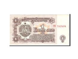Bulgarie, 1 Lev, 1974, Undated, KM:93s1, TTB - Bulgarie