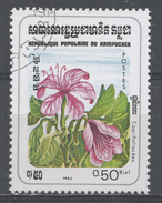 Kampuchea 1983, Scott #435 Flowers: Caprifoliacae (U) - Kampuchea