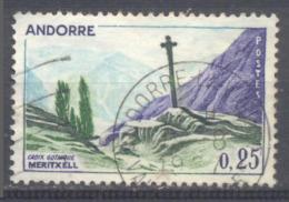Andorre Français YT N°158 Croix Gothique De Meritxell Oblitéré °