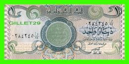 IRAQ - CENTRAL BANK OF IRAQ, ONE DINAR  - - Iraq
