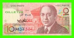 MAROC - BANK AL-MAGHRIB, 10 DIRHAMS - 1987 No 50 998072 - - Maroc
