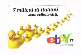 TELECOM ITALIA  - CAT. C.& C  F4154   -  EBAY: LE PAPERETTE    - USATA  (RIF. CP) - Italia
