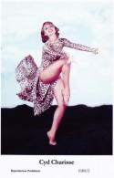 CYD CHARISSE - Film Star Pin Up - Publisher Swiftsure Postcards 2000 - Artiesten