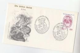 1982 ITALY FDC Francesco TASSO Stamps Golden Series Cover , SPECIAL Pmk Istituz Servizio Postale In Europa - 6. 1946-.. República