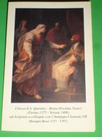 Beata ORSOLINA VENERI Ad Avignone A Colloquio Con L'Antipapa CLEMENTE VII /Benigno Bossi/Chiesa S.QUINTINO,Parma-santino - Images Religieuses