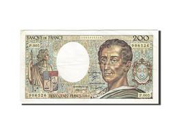 France, 200 Francs, 1981, 1981, KM:155a, TB+ - 200 F 1981-1994 ''Montesquieu''