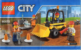 CATALOGUE LEGO City 60072 - Catalogues