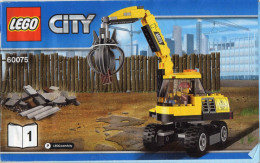 CATALOGUE LEGO City 60075-1 - Catalogues