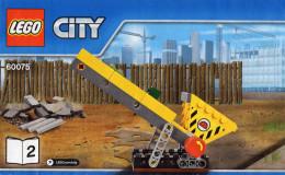 CATALOGUE LEGO City 60075-2 - Catalogues