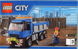 CATALOGUE LEGO City 60075-3 - Catalogs