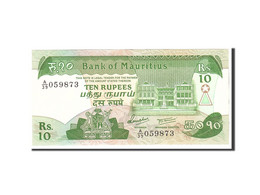 Mauritius, 10 Rupees, 1985, Undated, KM:35a, SPL - Maurice