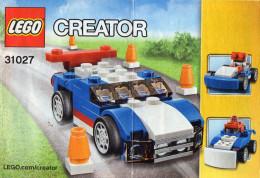 CATALOGUE LEGO Créator 31027 - Catalogues