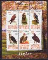 CHAD 2011 BIRDS S/S MNH M01538 - Chad (1960-...)