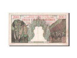 Indochine, 200 Piastres, 1953, KM:109 - Indochine