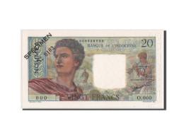 Nouvelle-Calédonie, Nouméa, 20 Francs, 1963, SPECIMEN, KM:50cs - Nouméa (New Caledonia 1873-1985)