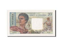 Nouvelle-Calédonie, Nouméa, 20 Francs, 1951, SPECIMEN, KM:50as - Nouvelle-Calédonie 1873-1985