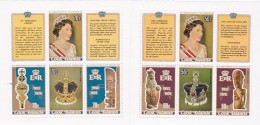 Cook Islands SG 593-600 1978 25th Anniversary Of Coronation Sheetlets  MNH - Cook