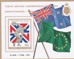Cook Islands SG MS460 1974 Commonwealth Games Miniature Sheet MNH - Cookeilanden