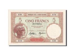 Nouvelle-Calédonie, Nouméa, 5 Francs, 1926, SPECIMEN, KM:36s - Nouvelle-Calédonie 1873-1985