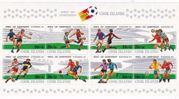Cook Islands SG MS823 1981 World Cup Football Championship Miniature Sheet MNH - Cook