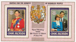 Cook Islands SG MS826 1981 International Year Of Disabled Personsminiature Sheet MNH - Cook