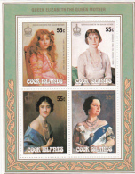 Cook Islands SG MS1079 1985 The Queen Mother, 86th Birthday Miniature Sheet MNH - Cook