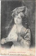 CPA DOS SIMPLE CELEBRITES - Artiste De L'Opéra-Comique Des Années 1900 -  LUCIA MULLER - ENCH0616 - - Entertainers