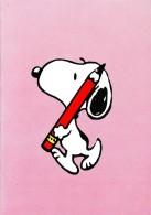SNOOPY With A Pencil - Peanuts Hallmark - Illust. Schulz - Portugal - Illustrateurs & Photographes