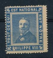 France - Vignette De Propagande Royaliste - Tout Ce Qui Est National Est Nôtre - Philippe VIII - Erinnophilie