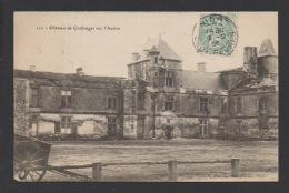 DF / 79 DEUX-SÈVRES / COULONGES-SUR-L'AUTIZE / LE CHÂTEAU / CIRCULÉE EN 1906 - Coulonges-sur-l'Autize