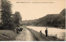 CPA - PLECHATEL - LES ROCHERS ET LES RIVES DE LA VILAINE - 2940 - Francia