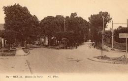 77 SEINE ET MARNE - MELUN Routes De Paris - Melun