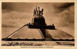 CPA - MONUMENT AUX MORTS DES ARMEES DE CHAMPAGNE - FERME DE NAVARIN - TTBE - Monuments Aux Morts