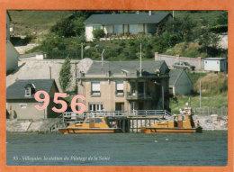 * * VILLEQUIER * * Le Poste Du Pilotage De La Seine, Aout 1984 - Villequier