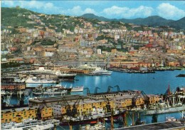 Italia > Liguria> Genova.Panorama E Porto.transport.boats - Genova (Genoa)