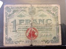 1 Franc De Rochefort Sur Mer 1920 - Chamber Of Commerce