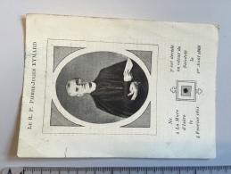 16M´´ - Relique Vêtement  RP Pierre Julien Eymard Dcd Odeur Sainteté La Mure D'Isere 1868 - Images Religieuses