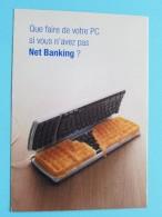 Net Banking DEXIA (Wafelijzer) Anno 19?? ( Zie Foto´s Voor Details ) !! - Banques