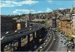 Italia > Liguria> Genova.Le Soproelevata.Via Gramsci - Genova (Genua)