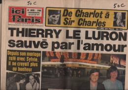 7487  - Th.le Luron Cl.François A.Delon A.Ekberg M.Monroe F.Fawcett  Ch.Dumont Aimable  G.Rogers  CH.Chaplin CH.Moulin - Sonstige