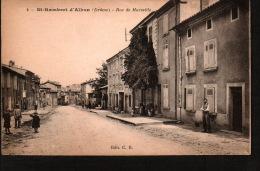 DC1830 - DRÔME - St. RAMBERT D'ALBON - RUE DE MARSEILLE - Andere Gemeenten
