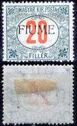 Fiume-00163 - 1918-19 - Segnatasse: Sassone N. 11 (+) LH - Privo Di Difetti Occulti - - 8. Occupazione 1a Guerra